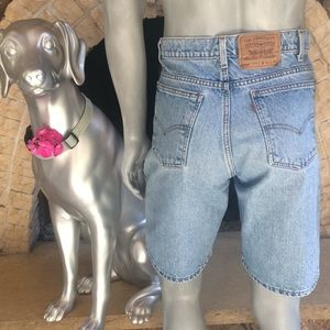 Vintage Levi's 550 Relaxed Fit Jean Shorts